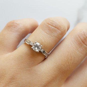 April Birthstone Ring