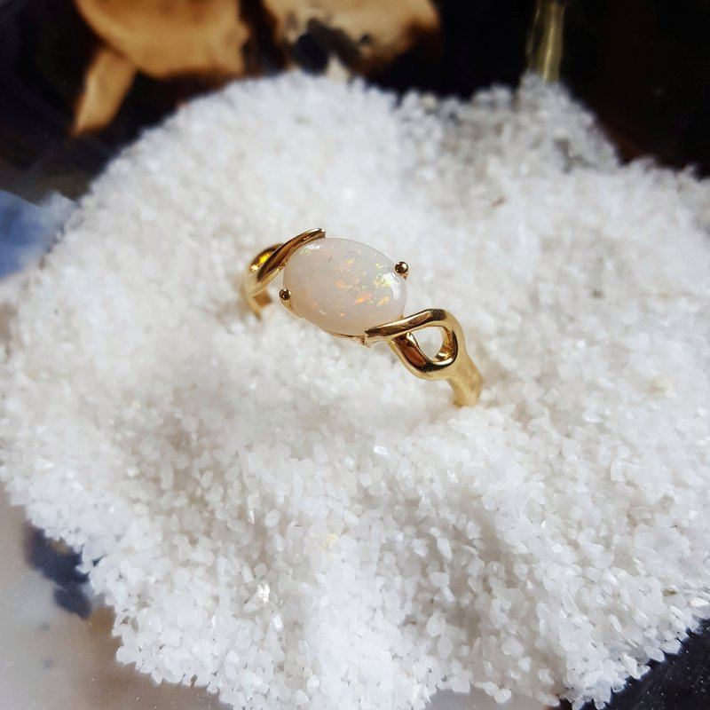 Sami Fine Jewelry Opal Twist Ring