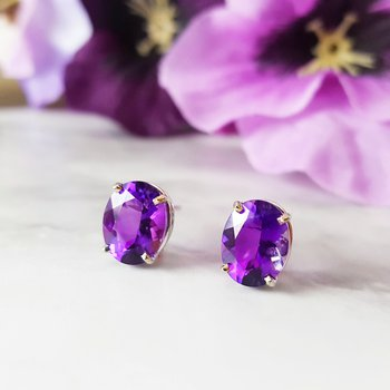 Essential 3CT Oval Studs