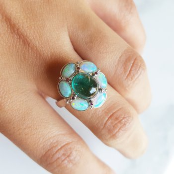 Floral Inspired Ring