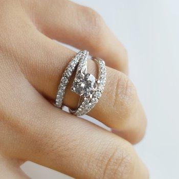 Whirlwind Romance Ring
