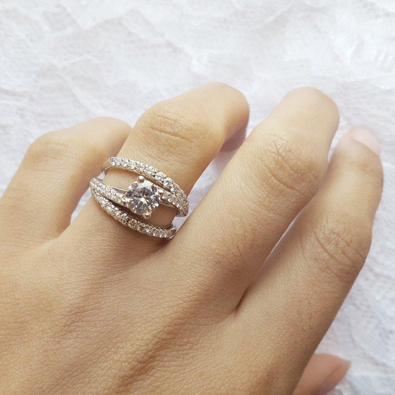 Sami Fine Jewelry Whirlwind Romance Ring