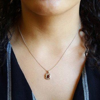 Mini AZ Garnet Pendant
