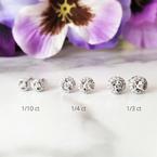 Sami Fine Jewelry True Reflections Halo Studs