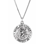 Sami Fine Jewelry St. Christopher U.S. Air Force Medal