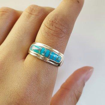 AZ Kingman Turquoise Ring