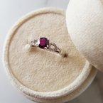 Arizona Anthill Garnet Gold Jewelry Garnet Accented Ring