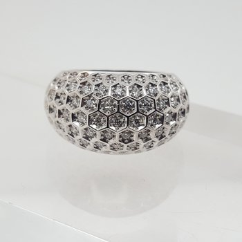 Honeycomb Dome Ring