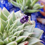 Arizona Amethyst™ Silver Jewelry Arizona Amethyst Accented Ring