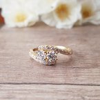 Sami Fine Jewelry Two Stone Ring