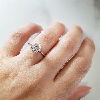 3/4 Carat Cluster Ring