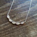 Sami Fine Jewelry Intertwined Curve Bar Necklace