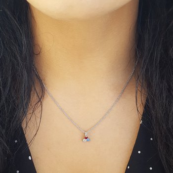 American Triangle Necklace
