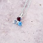 American Gem Collection™ American Triangle Necklace