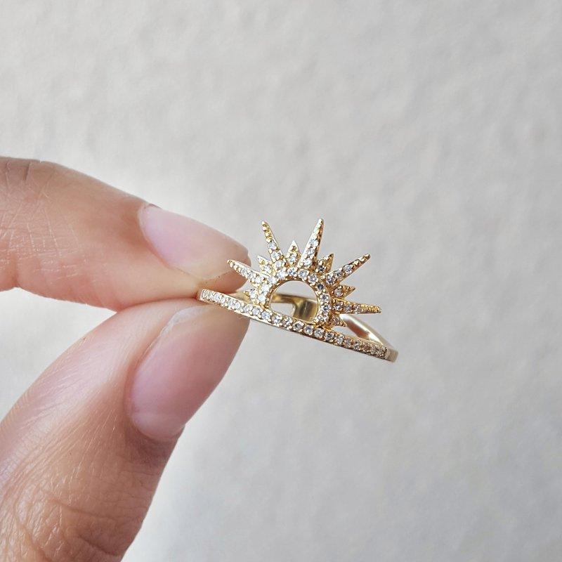 Sami Fine Jewelry Sunrise Horizon Ring