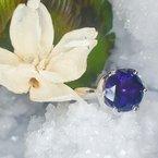 Arizona Amethyst™ Gold Jewelry  Bloom Ring