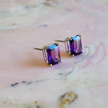 Essential 1 1/2CT Radiant-Cut Earrings