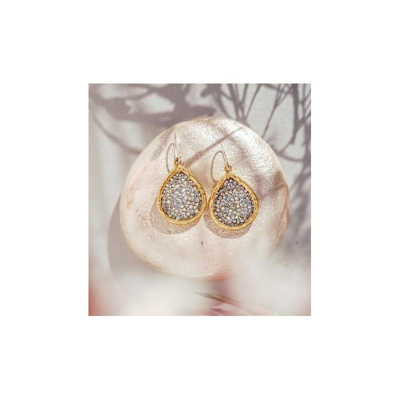 Waxing Poetic Kristal Teardrop Earrings
