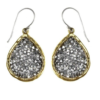 Kristal Teardrop Earrings