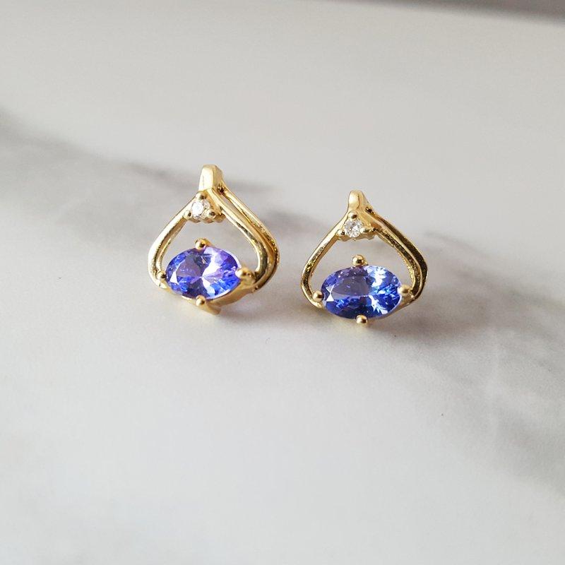 Sami Fine Jewelry Tanzanite Earrings