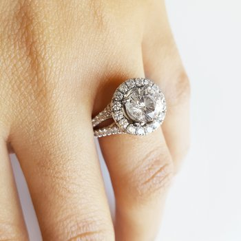 Bold Halo Ring