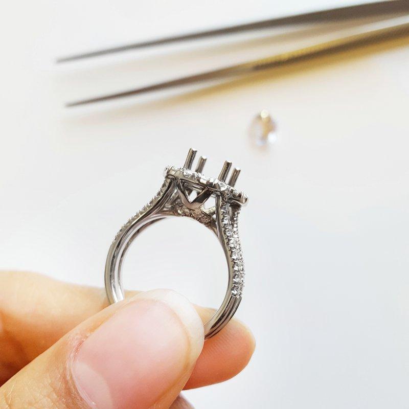 Sami Fine Jewelry Bold Halo Ring