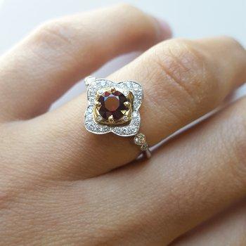 Vintage Inspired Bloom Ring