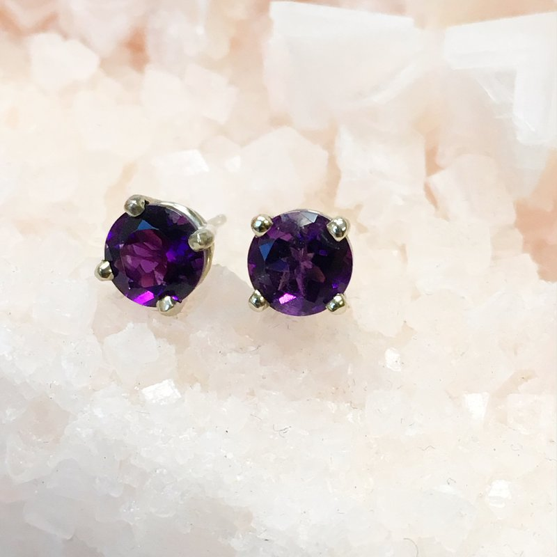 Arizona Amethyst™ Gold Jewelry Amethyst Stud