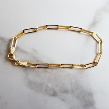 Essential Paperclip Bracelet