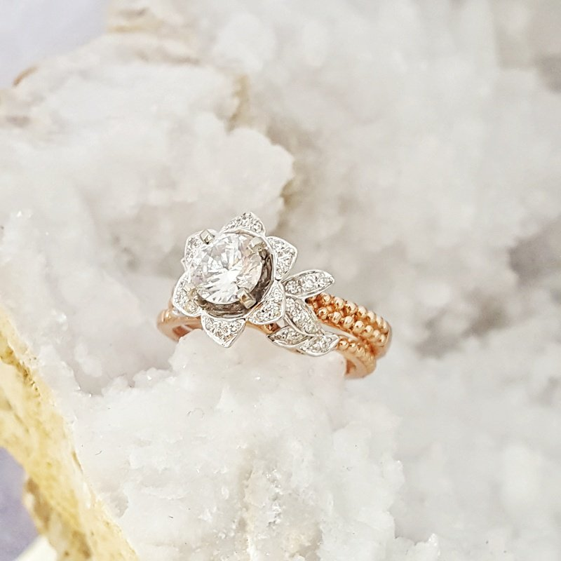 Sami Fine Jewelry Blushing Rose