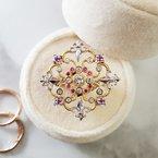Luxury by Rene Hernandez Fleur de Lis Ring