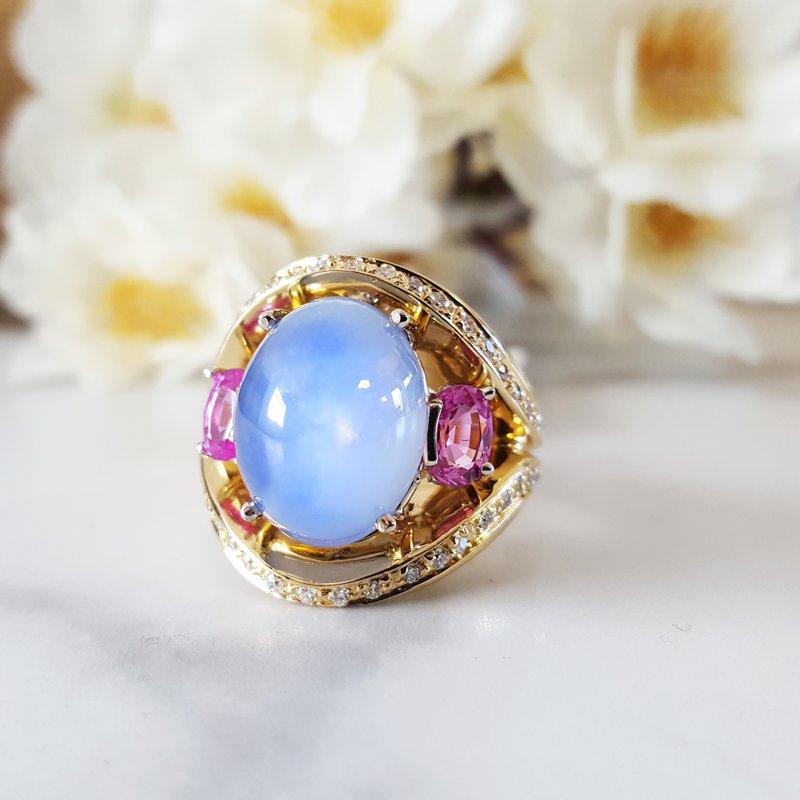 Luxury by Rene Hernandez Star Sapphire Ring