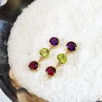 Arizona Amethyst™ Gold Jewelry Arizona Gems Drop Sutds