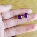 Arizona Amethyst™ Gold Jewelry Essential 4 1/2CT Oval Earrings