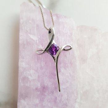 Petite Cross Necklace