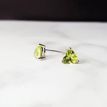 Trillion Stud Earrings