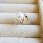 Sami Fine Jewelry Pearl Wave Ring