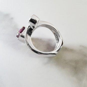 Tourmaline Snake Ring