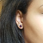Arizona Amethyst™ Gold Jewelry Essential 2CT Round Studs
