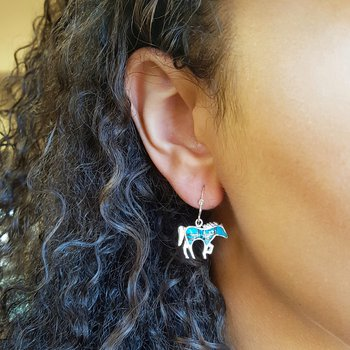 Horse Silhouette Earrings