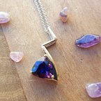 Arizona Amethyst™ Gold Jewelry Lightning Bolt Beauty