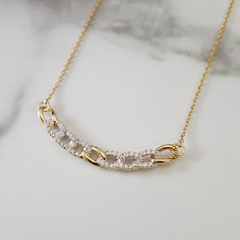 Sami Fine Jewelry Chain Link Style Necklace