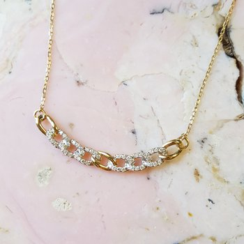 Chain Link Style Necklace
