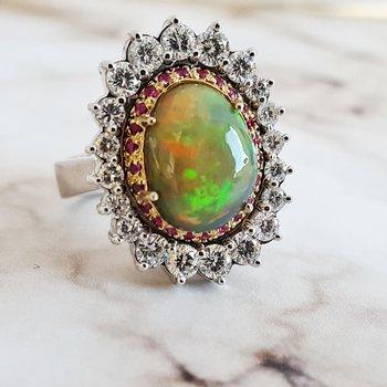 Regal Opal Ring