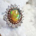 Luxury by Rene Hernandez Regal Opal Ring