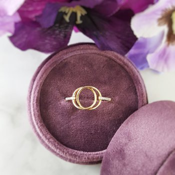 Circles Intertwined Ring