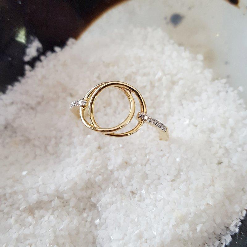 Sami Fine Jewelry Circles Intertwined Ring