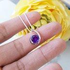 Arizona Amethyst™ Silver Jewelry Arizona Amethyst Shooting Star Pendant