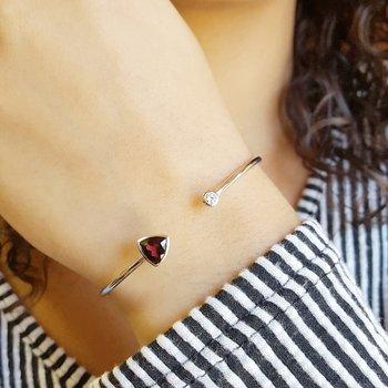 Trillion Cuff Bracelet