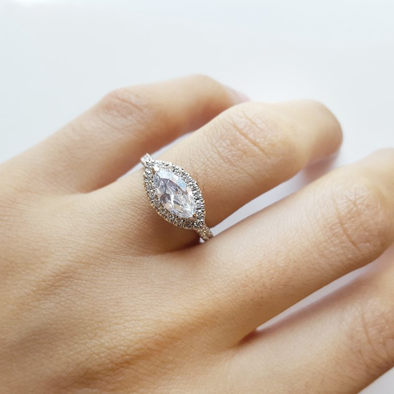 Sami Fine Jewelry East-West Marquise Ring